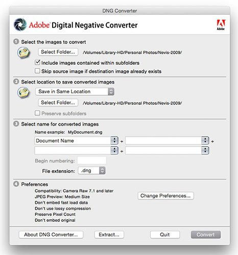 dng file converter free