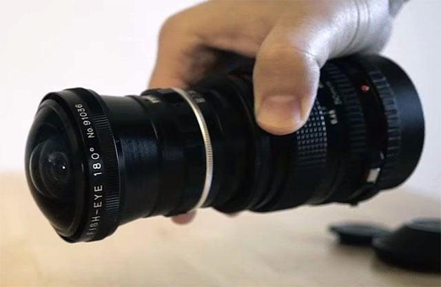 Chụp thử ảnh chân dung bằng ống Fisheye 180° - 103524