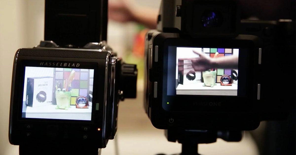 """So sánh trực diện liveview hai em """"siêu mẫu"""" medium format Hasselblad và Phase One - 106068"""