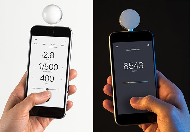 Lumu Power Turns the iPhone Into a Light, Flash, and Color Temperature Meter