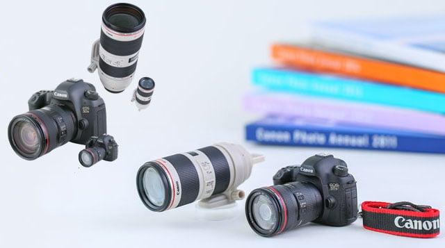 Canon giới thiệu mô hình 5Ds cùng 2 mẫu USB hình ống kính cho fan - 104686
