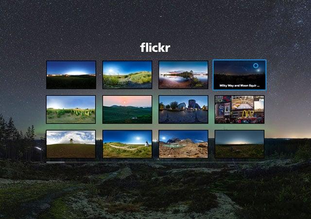 Flickr nhảy vào thị trường ảnh thực tế ảo 360° với app cho Samsung Gear VR - 103870