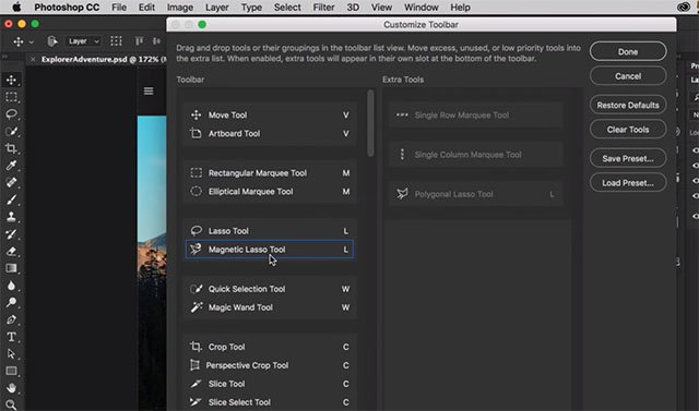Adobe photoshop cc updated with custom toolbars touch ui and more ccuart Image collections