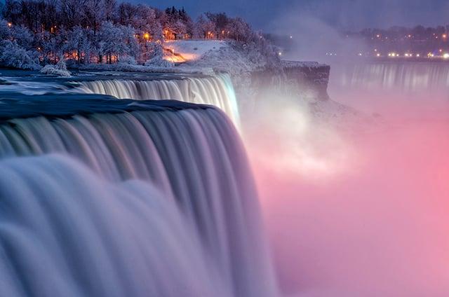 One of my first two long exposure photos at Niagara Falls. Shot on the U.S. side at Niagara Falls State Park-Niagara Falls.