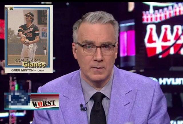 Keith Olbermann Was The Photographer Behind Bad Photos On
