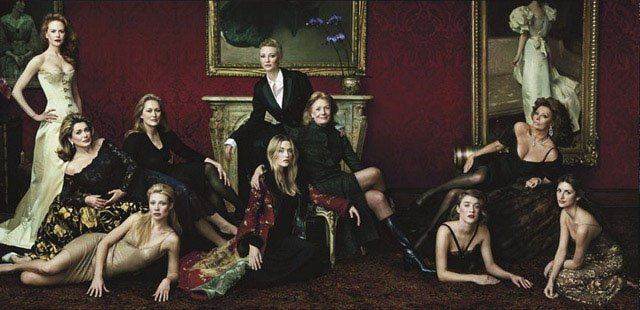 Photograph by Annie Leibovitz.