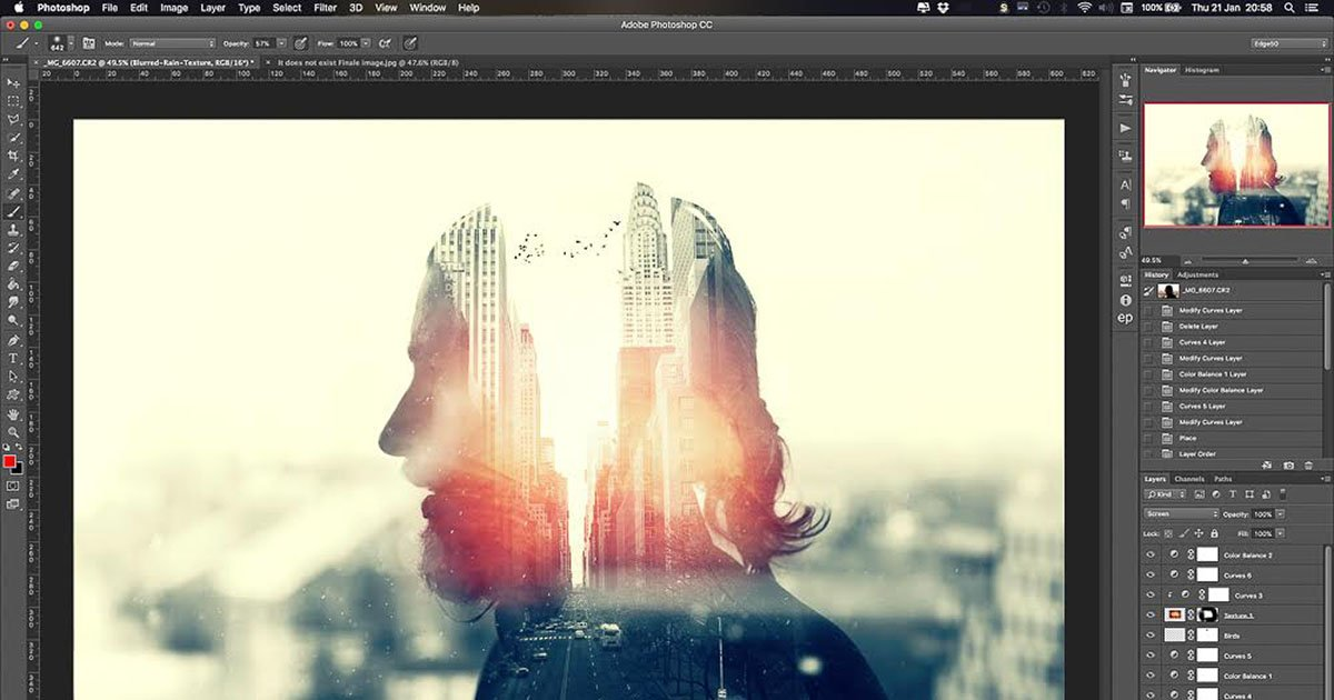 How to Make a Killer Multiple Exposure Portrait Using ...