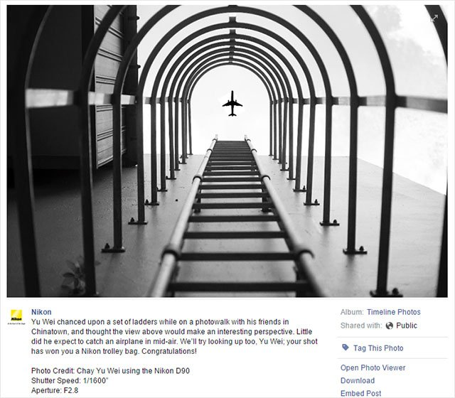 Nikon Awards Prize to Badly 'Shopped Photo, Hilarity Ensues