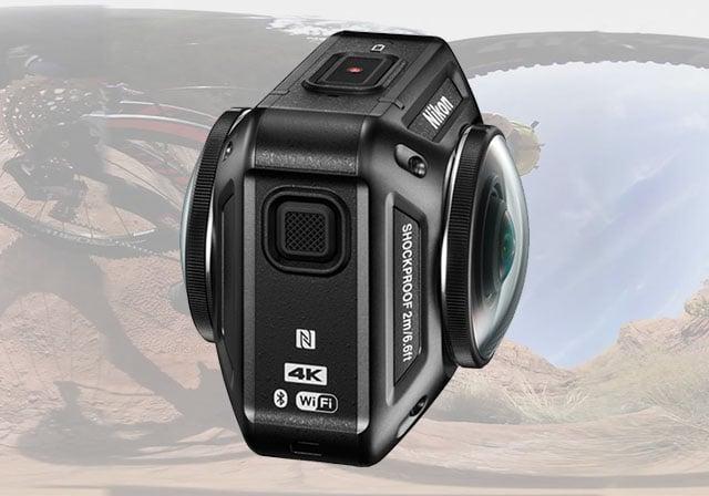 """Nikon tham gia """"quẩy"""" ở thị trường máy quay du lịch với hàng lạ KeyMission 360 - 106939"""