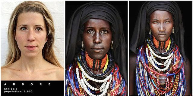 African facial characteristics