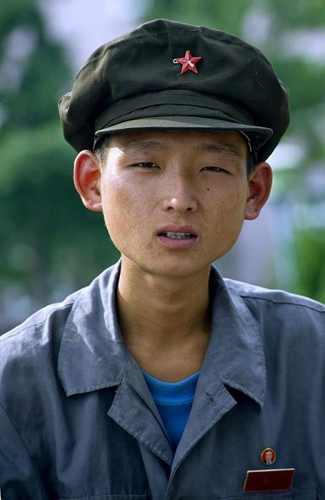 North Korea doesn't like photos that appear to show its people malnourished.