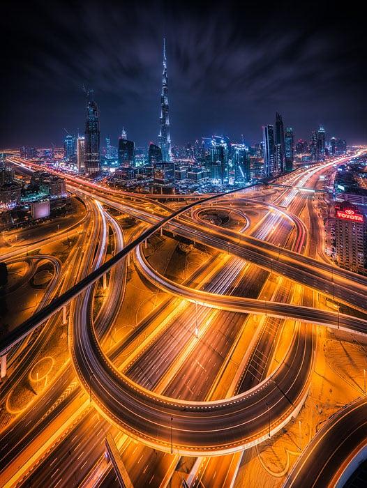 How To Shoot Futuristic Cityscapes Of Dubai