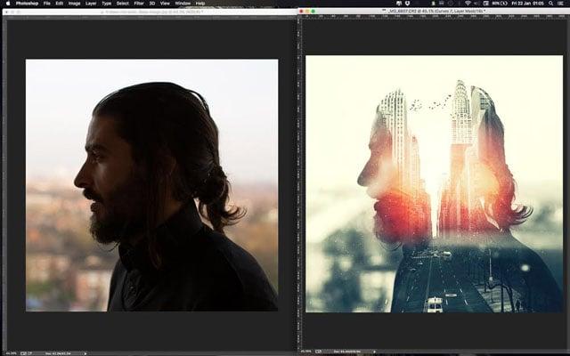 Как сделать фотошоп фотограф
