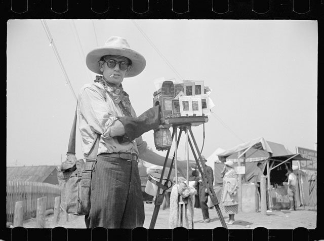 photos of photographers in the great depression