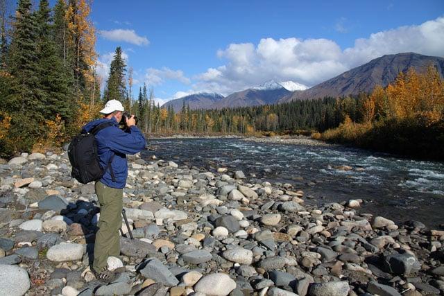 Bryan Carnathan in Alaska