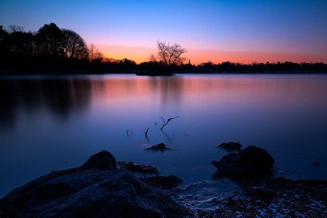 Jamaica+Pond+sunrise