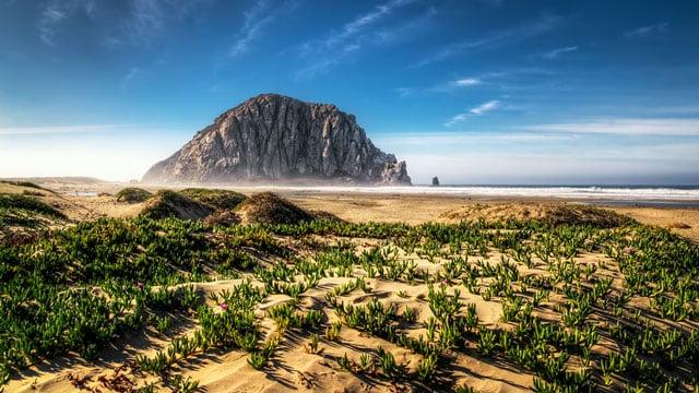 Northern California. Morro Bay.