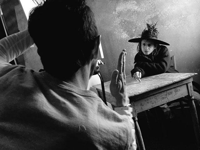 Jay L. Clendenin: Ritratti fotografici in Polaroid