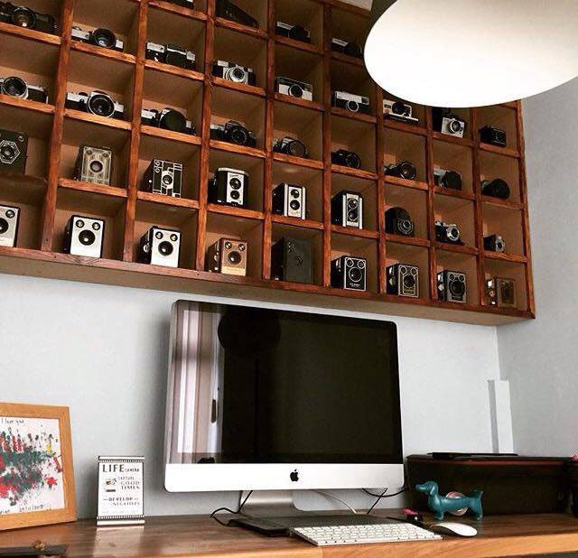 This Photographer S Office Features His Collection Of