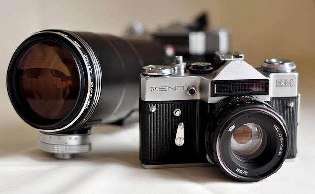 the russian zenit camera is coming back to battle leica in luxury