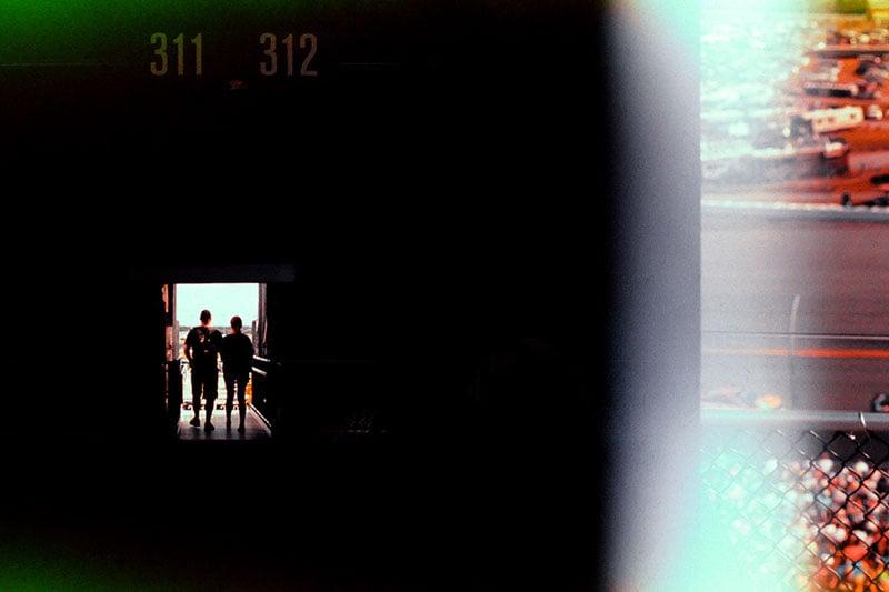 DAYTONA 500 SHOT ON EXPIRED FILM