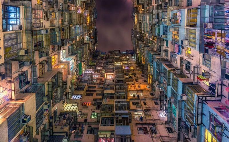 Fok Cheong building in Hong Kong.