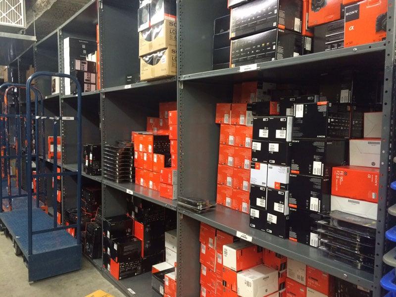 Sony equipment.