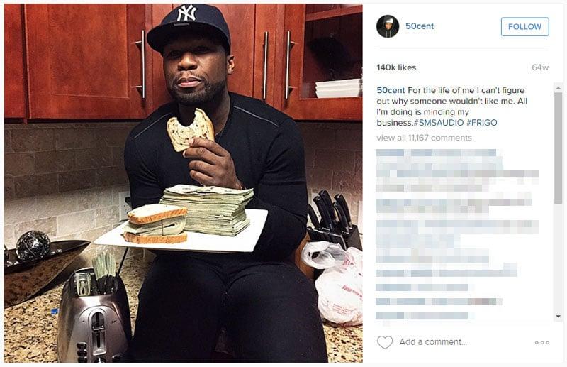 'Broke' 50 Cent Tells Judge He Takes Photos of Fake Money ...