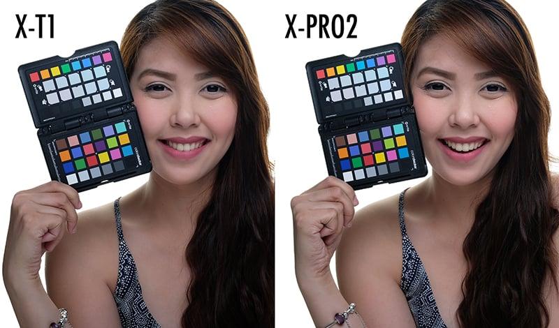 color test studio - xt1 xpro2