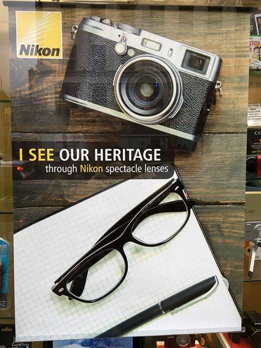 Oops This Nikon Ad Shows A Fujifilm Camera