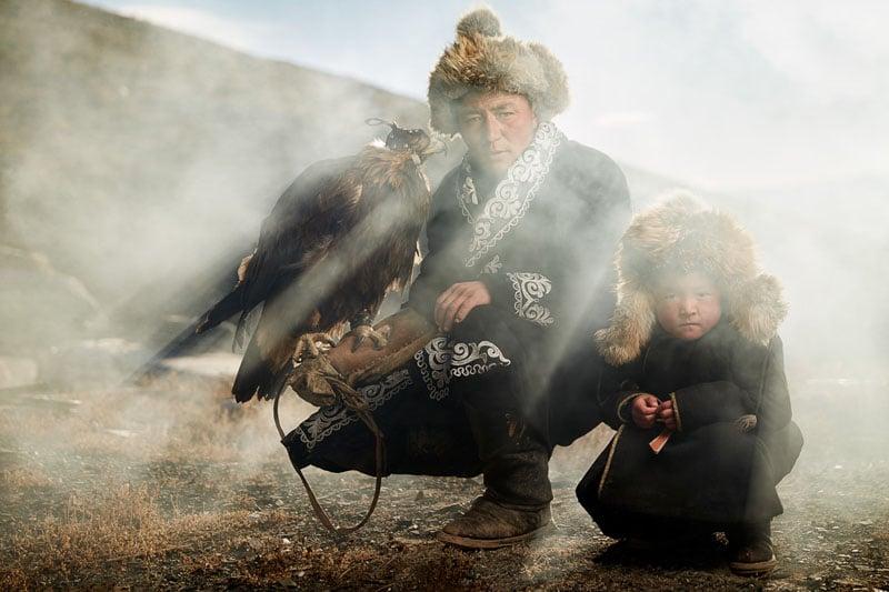 I Shot Portraits of Mongolian Eagle Hunters