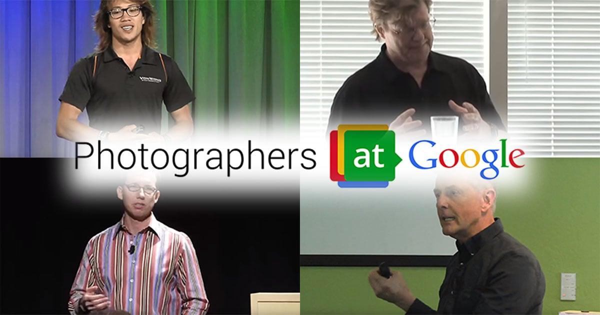 12 Inspiring Talks by Photographers at Google
