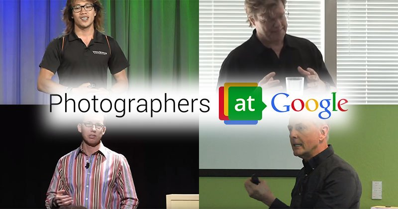 12 Inspiring Talks by Photographers at Google