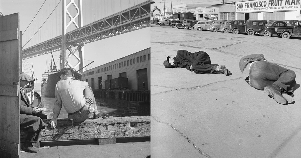 San Francisco in the Great Depression: Photos by Dorothea ...