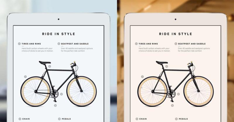 Apple's 9.7-Inch iPad Pro Has an Auto White Balancing Screen