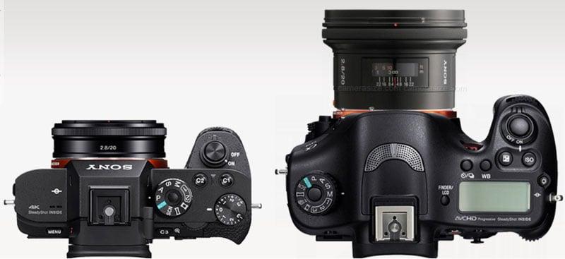 Pena que essas lentes pequenas não são opção para mim, então sem ganho de  volume. E existem DSLR bem leves, a 6D pesa apenas 770 gramas. cea601cc33