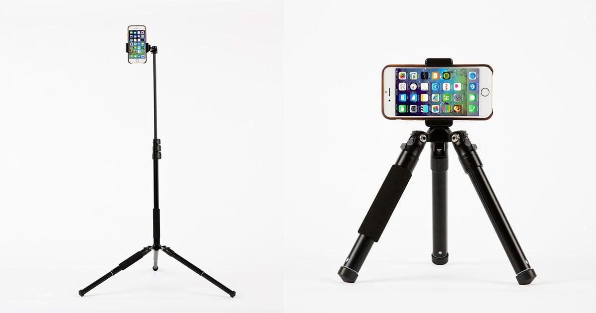 monoshot is an ultra portable tripod monopod and selfie stick. Black Bedroom Furniture Sets. Home Design Ideas