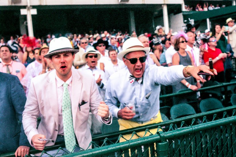 I Shot Expired Film at the Kentucky Derby