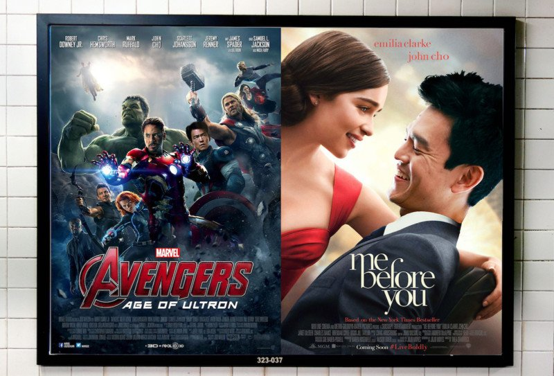 artist photoshops john cho into major movie posters to protest