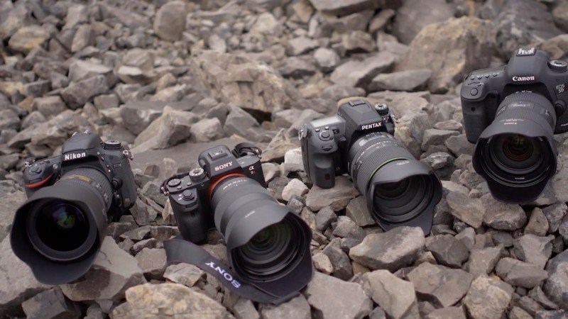 Sony, Canon, Nikon, and Pentax Duke it Out in 24-70mm f/2.8 Shootout