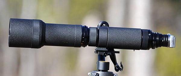 Nikkor-P 800mm f/8 on a Sony NEX5 Using AU-1