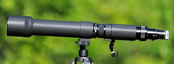 Nikkor-P 1200mm f/11 on a Sony NEX-5 using AU-1