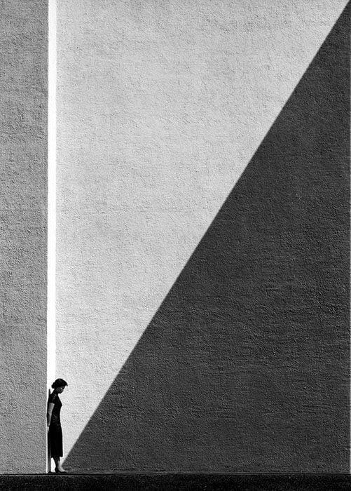 """""""Approaching Shadow"""" by Fan Ho."""