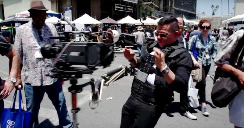 Guy Smashes $70,000 Camera While Using Stabilizer