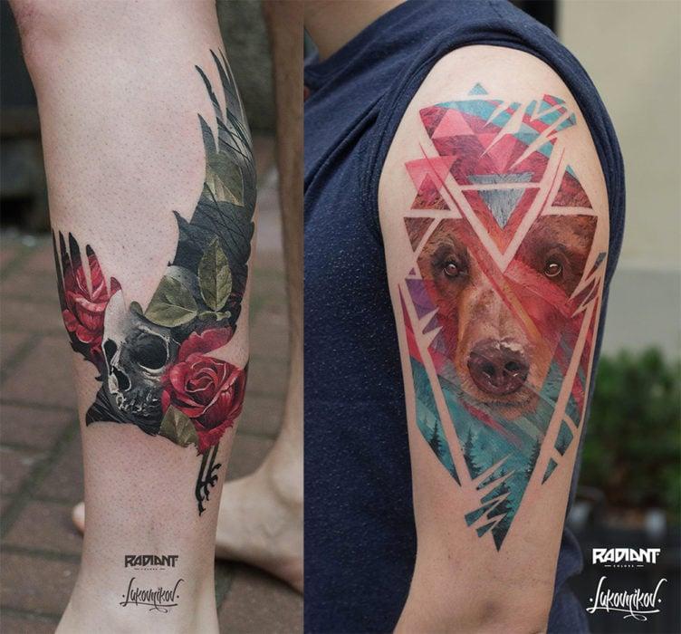 S Theme Cat Tattoo