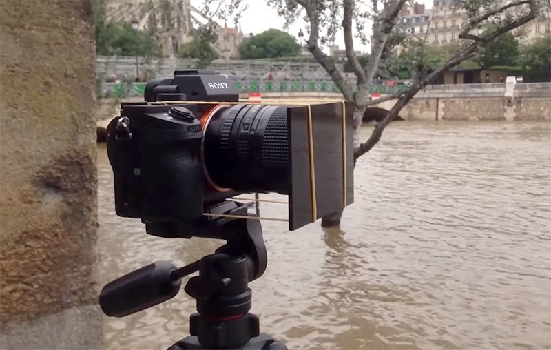 Use Welder's Glass as a $1 ND Filter for Long Exposures in Daylight