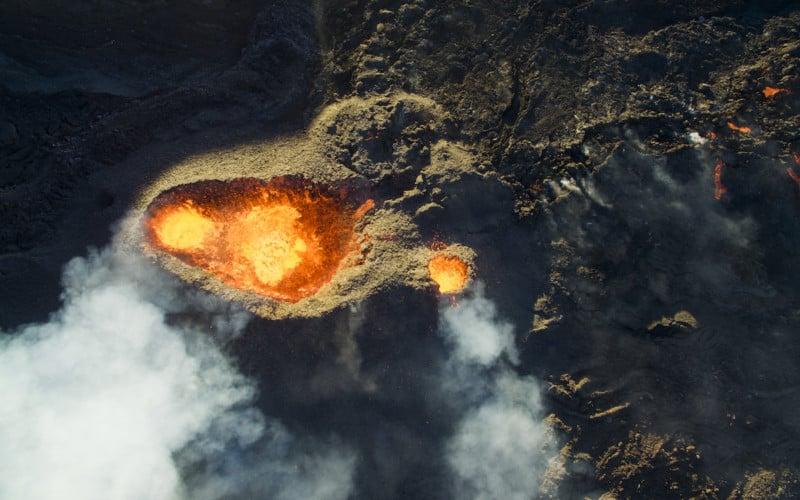 3rd Prize Winner category Nature_Wildlife Piton de la fournaise, Volcano by Jonathan Payet