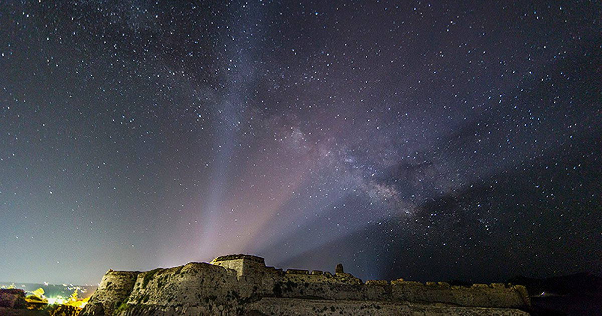 Photographing The Milky Way Over Greece