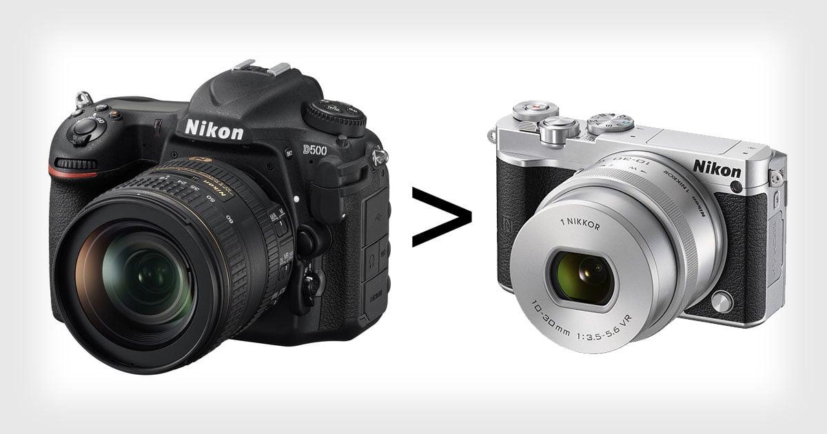 7 Reasons Why I\'m Still a Nikon DSLR User
