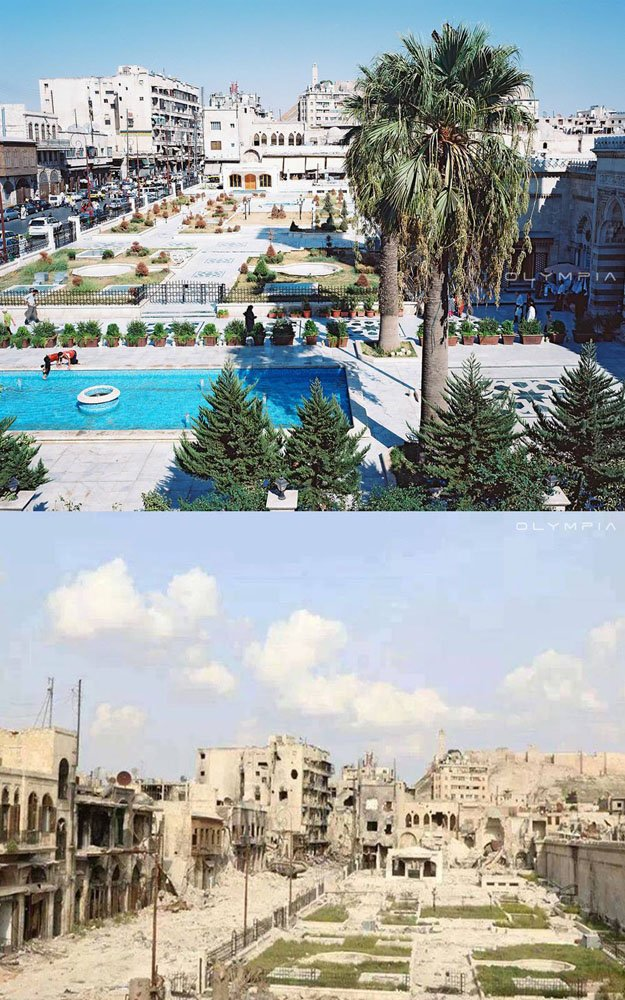 26 Before And After Pics Reveal What War Has Done To Syria